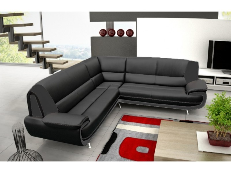 canap d 39 angle jenna xxl reversible conforama. Black Bedroom Furniture Sets. Home Design Ideas