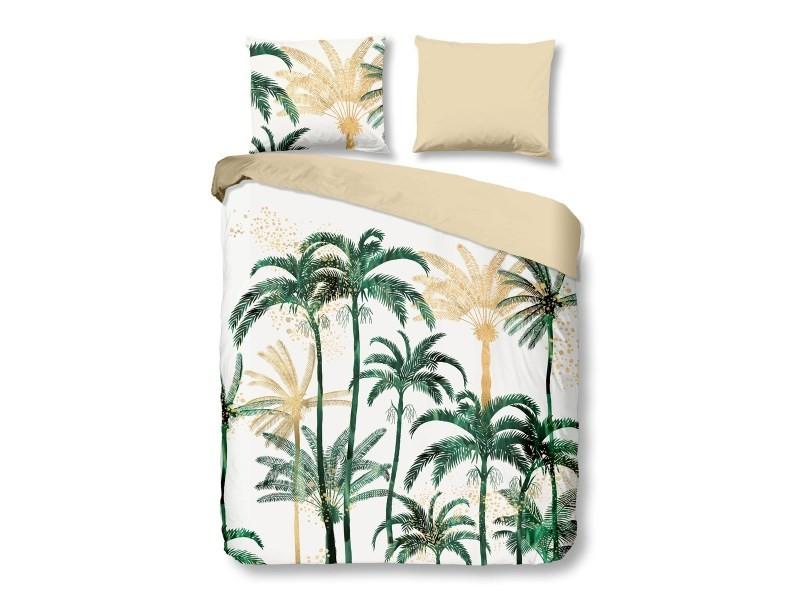 Parure de lit palmiers - 140x200 cm
