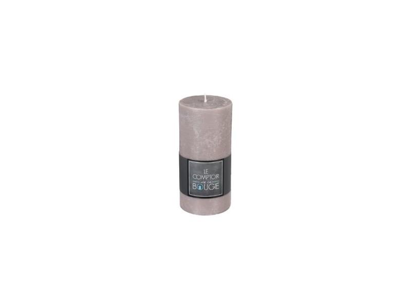 Cire de Paraffine Taupe Rustique 103868020324/Bougie Pilier
