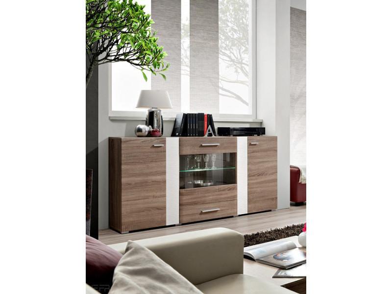 aleppo bahut contemporain pour la salle manger leds. Black Bedroom Furniture Sets. Home Design Ideas
