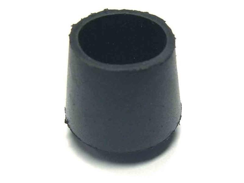 Strauss - embout de meuble caoutchouc noir ø 30 mm - lot de 20 BD-250377
