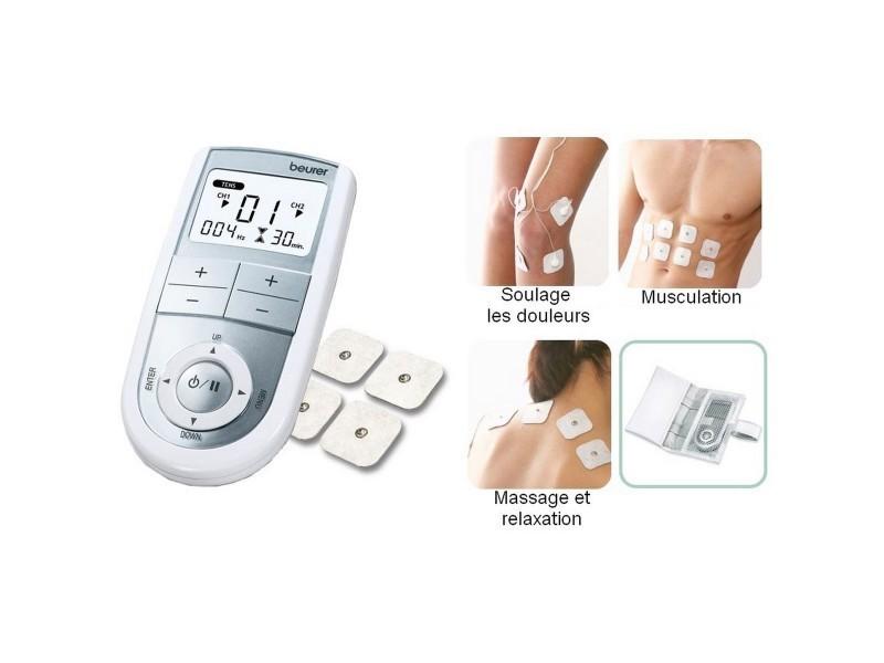 appareil d 39 lectro stimulation em41 em41 vente de electrostimulation conforama. Black Bedroom Furniture Sets. Home Design Ideas