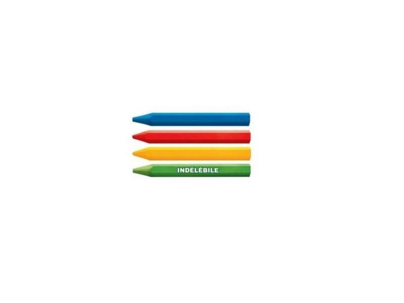 Outifrance - boîte de 12 craies rouges industrielles - 5280080