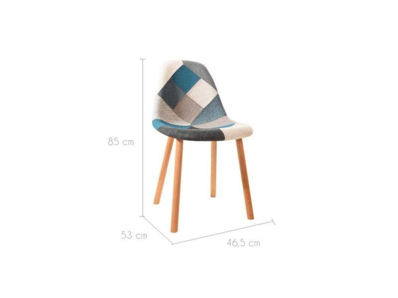 arctik de Chaise bleuelot 2Vente patchwork Chaise de m8wvn0ON