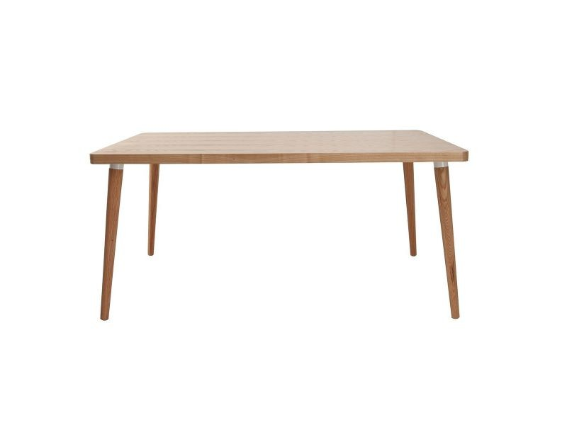 Table à manger design en chêne clair totem