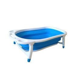 Baignoire pliable Baby Fox Regular Bleu