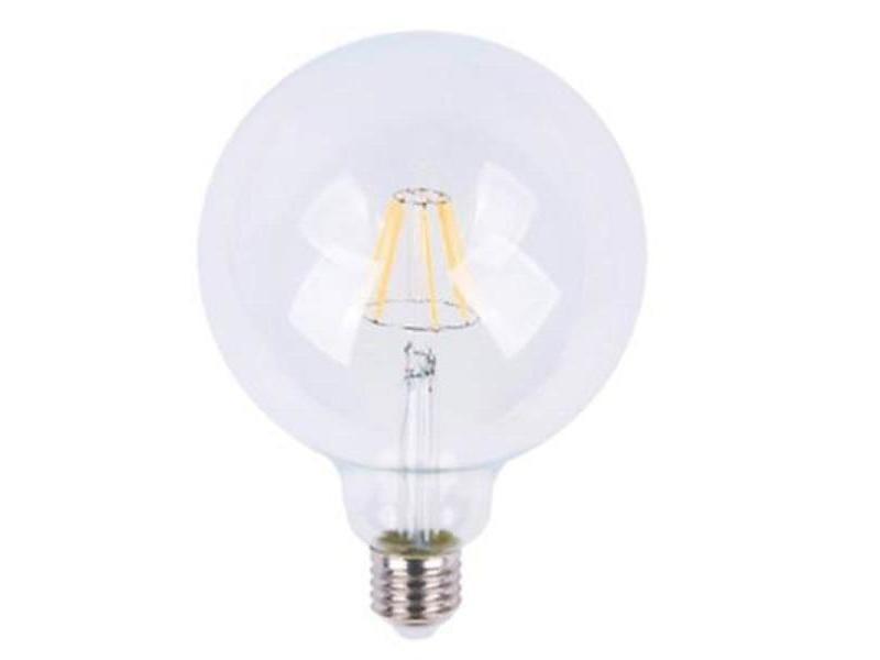 Ampoule e27 led 6w 220v cob led g125 - blanc chaud 2300k - 3500k