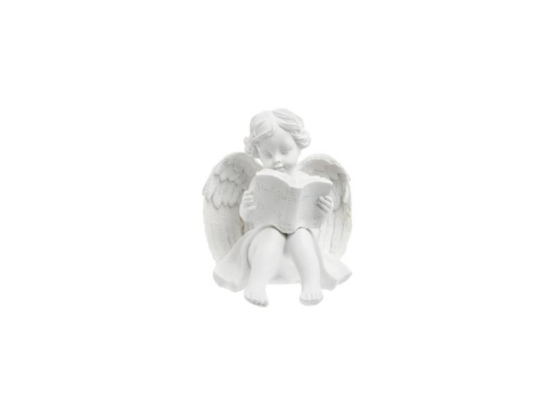 Ange qui lit - blanc
