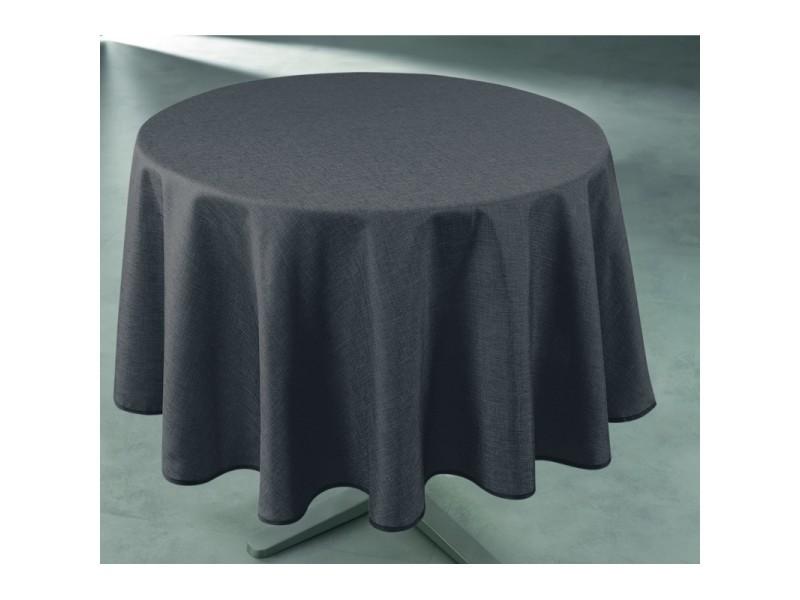 Au Caf/é-H/ôtel Au Jardin Oukeep Nappe en Lin Uni Nappe Sauvage Imperm/éable Set De Table Rectangulaire Adapt/é Au Salon