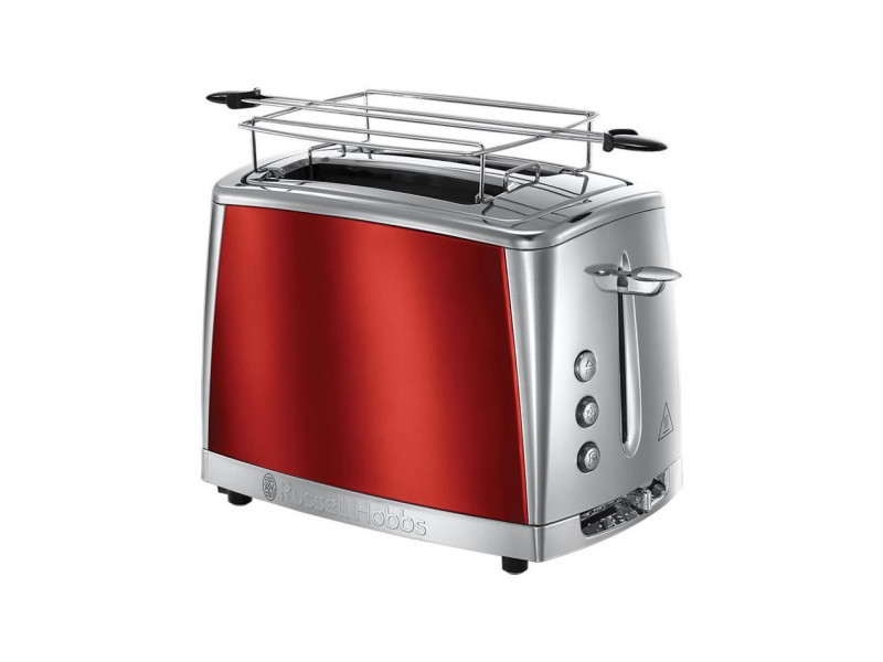 Russell hobbs 23220-56 -toaster luna - technologie fast toast - rouge solaire RUS4008496880041