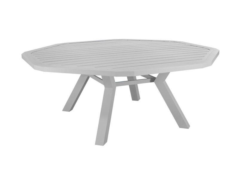 Table de jardin en aluminium ambera 200 cm