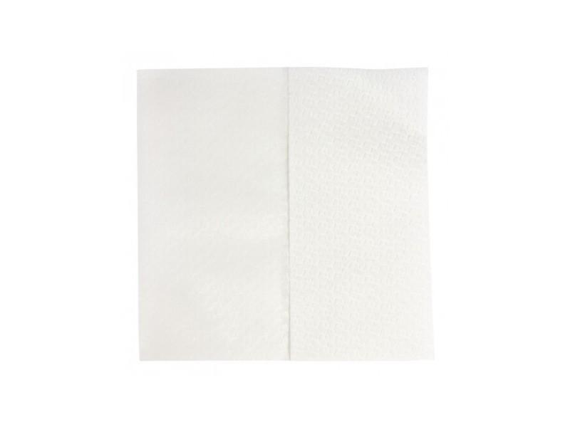 Essuie-mains non-tissé blanc jantex -