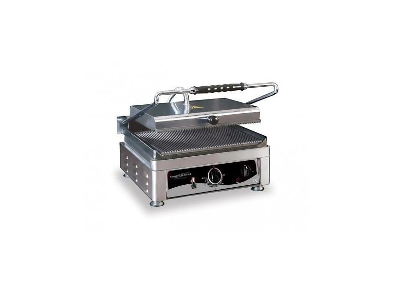 Grill panini professionnel - 510 x 500 x 300 - combisteel -