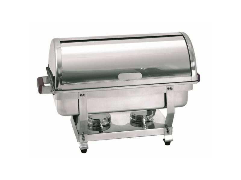 Chafing dish gn 1/1 profondeur 65 mm 2 supports - bartscher -