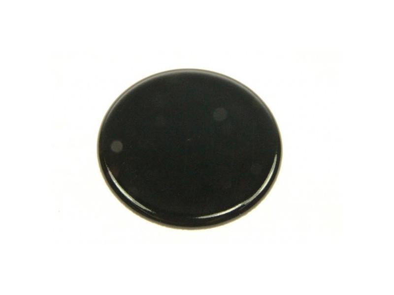 Chapeau bruleur auxiliaire noir ø 38 m/m reference : c00032430
