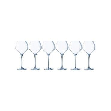 Chef et sommelier lot de 6 verres a vin open up soft 47 cl