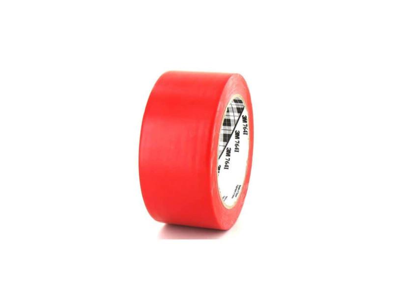 Ruban adhésif vinyle 3m 764 rouge 50mm 764R-50