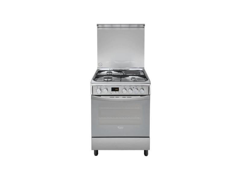 Cuisinière mixte électrique 57l hotpoint 60cm a, h6mmp6ag x ARI8007842882681
