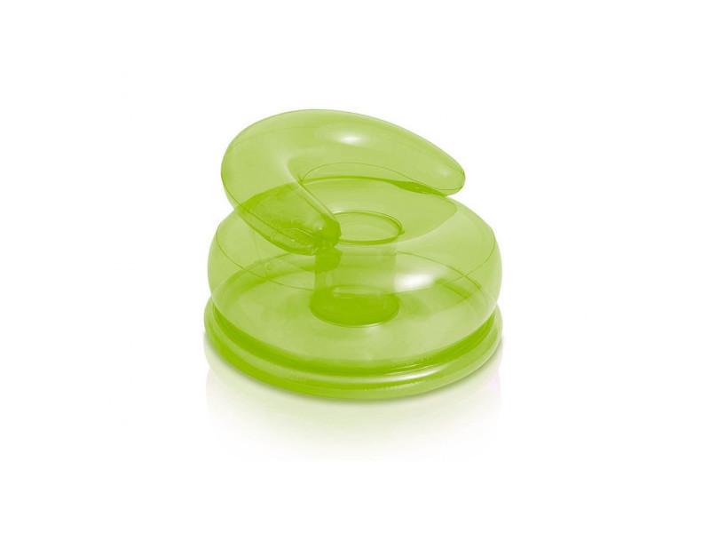 Fauteuil gonflable pour enfant - 66 x 42 cm - vert