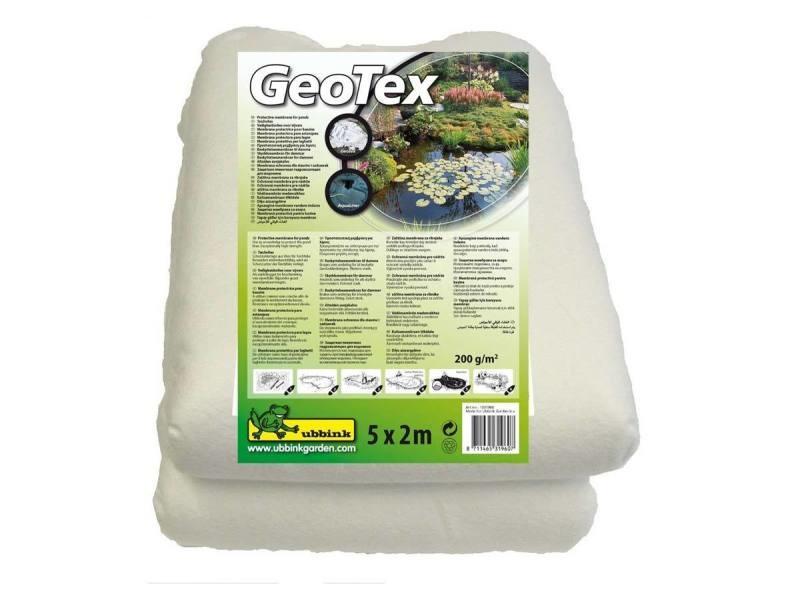 Feutre géotextile de sécurité blanc prepacked 5 x 2 m- 200g/m² 1331960