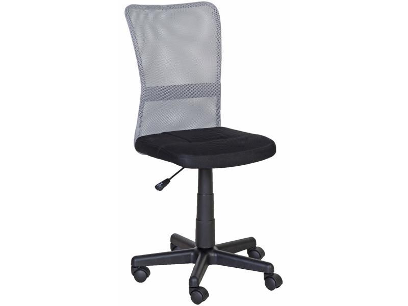 Chaise de bureau prosper noir et gris vente de fauteuil de bureau