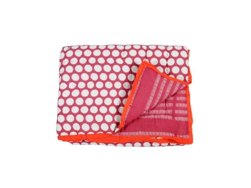 Quilt 140x230 - 2 imprimés réversible - 140x230 cm - Vente de Plaid et  couverture - Conforama 0714620c251