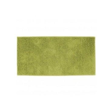 tapis petit format twist vert 57x115 - Prix Tapis Enfant Conforama