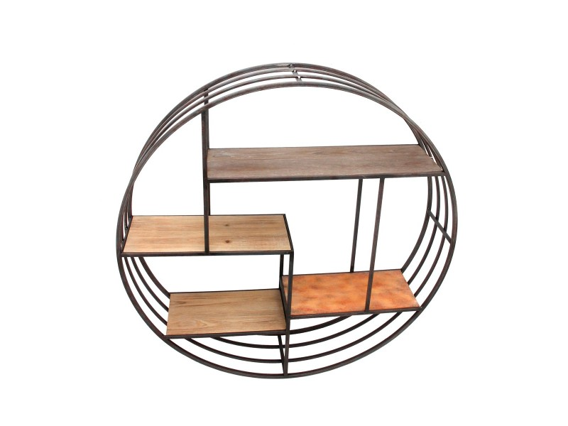 etagere metal ronde