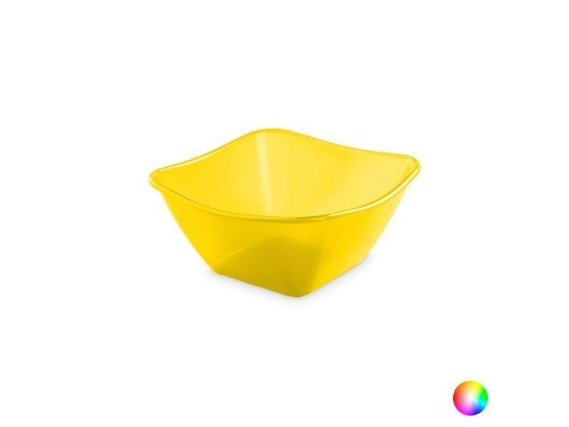 Accessoires de camping et de montagne stylé couleur jaune saladier en polypropylène (4 l) 142498