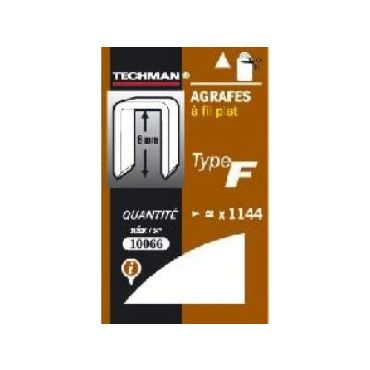 Techman - agrafes 14 mm - type f