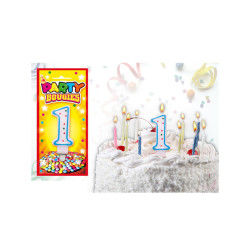 Bougies chiffres anniversaire - bougies chiffres anniversaire 1 - bougies chiffres anniversaire 1