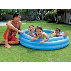 Piscine gonflable crystal