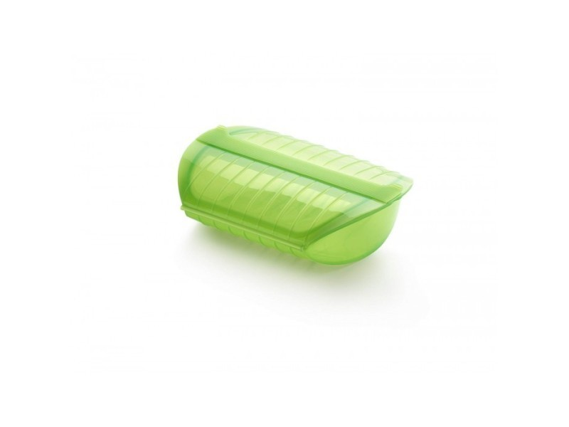 Coffret vapeur cuisson papillotes avec filtre vert 3/4 presonnes lekue