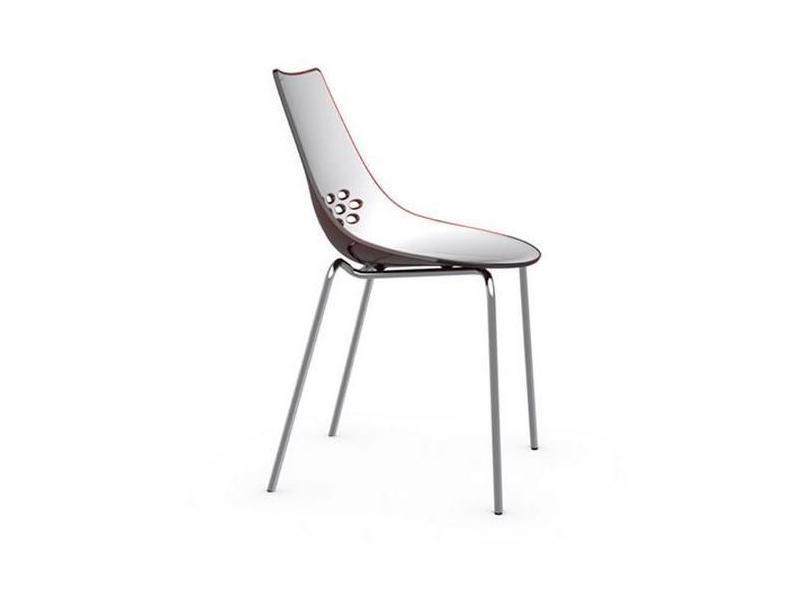 Lot blanche design rouge de brillante 2 jam chaises et OukXZiPT