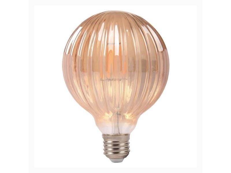 Ampoule e27 led dimmable filament 6w ambrée - blanc chaud 2300k - 3500k