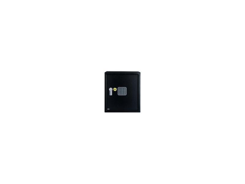 Coffre-fort a serrure electronique - 100 000 combinaisons - a poser et sceller - format bureau - 39 x 35 x 36 cm (40,1l) AUC5010609182224