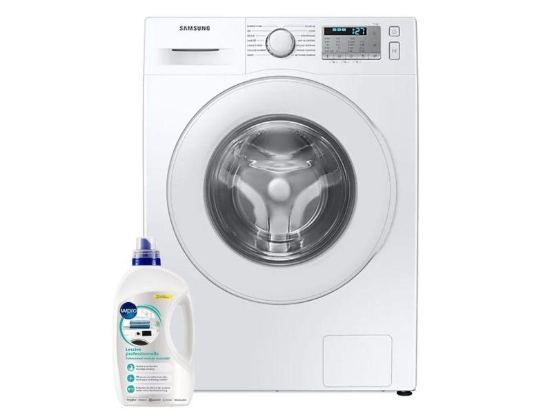 Lave-linge frontal 8kg a+++ 1400trs/min ecobubble machine à laver hublot