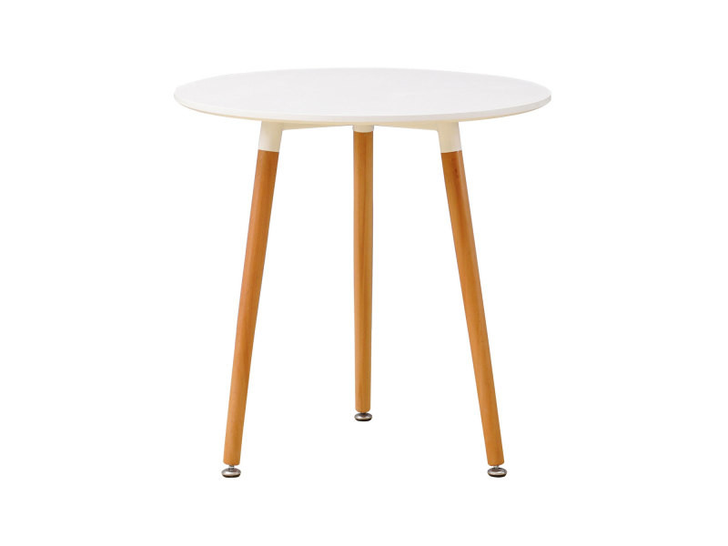 Table Ronde Scandinave Anouk Blanche Vente De Happy Garden Conforama