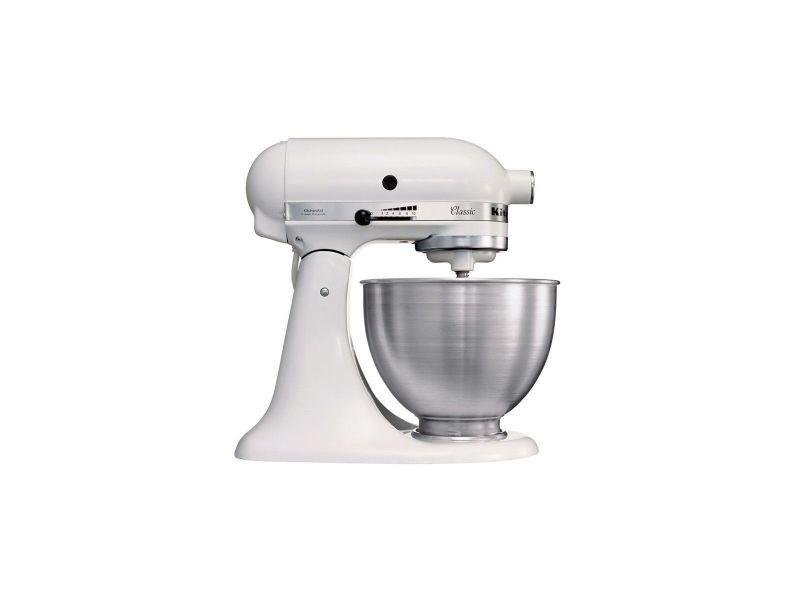 Kitchenaid classic 5k45ssewh robot patissier - blanc KITCH5K45SSEWH