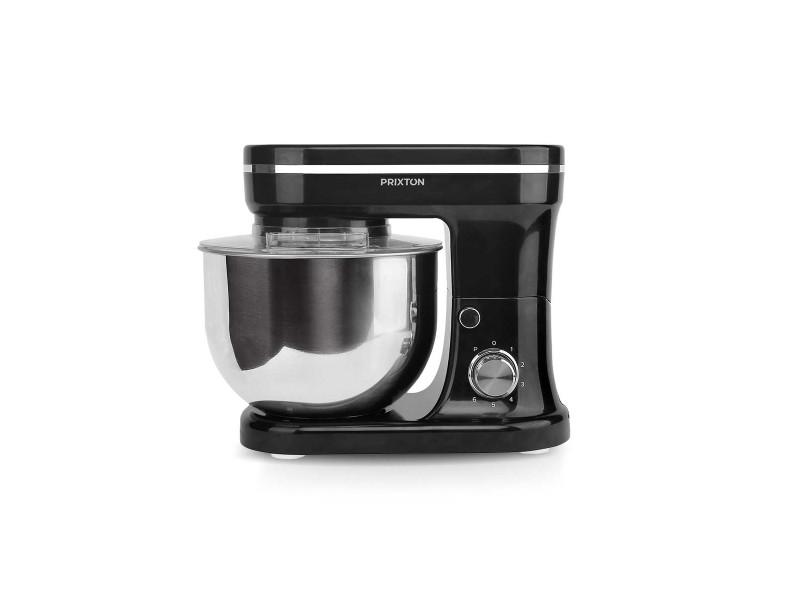 Robot pâtissier kr200 - 1200w - 6 vitesses - multifonctions - noir