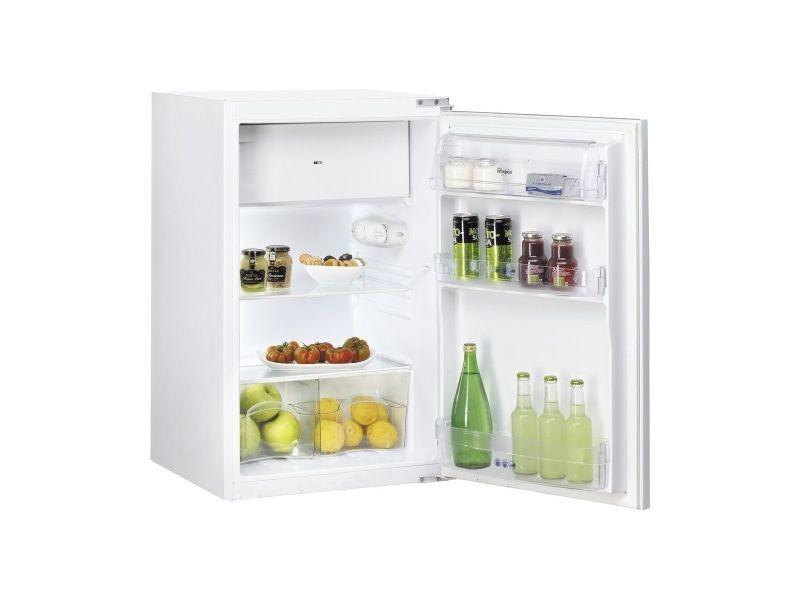 Refrigerateur 1 Porte Integrable 120l Whirlpool Arg450 A+   Vente De  Réfrigérateur Encastrable   Conforama