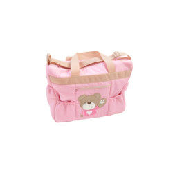 Sac de transport pour bébé king bear - little bear rose