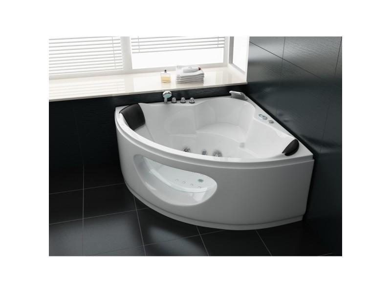 Petite salle de bain couleur - Vente baignoire balneo ...