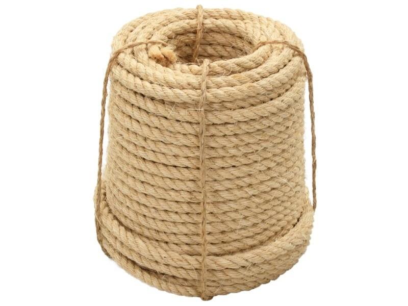 Esthetique chaînes, câbles et cordes selection varsovie corde 100 % en sisal 12 mm 250 m