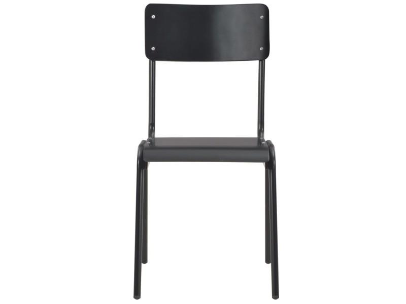 Icaverne chaises de cuisine categorie 4 pcs chaises à