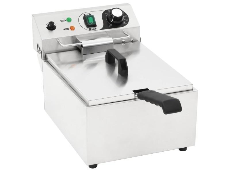 Inedit électroménager de cuisine selection yaoundé friteuse électrique acier inoxydable 10 l 3000 w