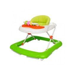 Trotteur pour bébé avec tablette jeu jusqu'à 15 mois vert ape02003