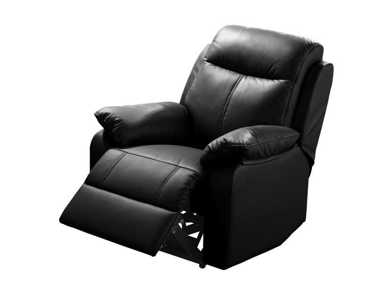 Ticory - fauteuil relax electrique noir