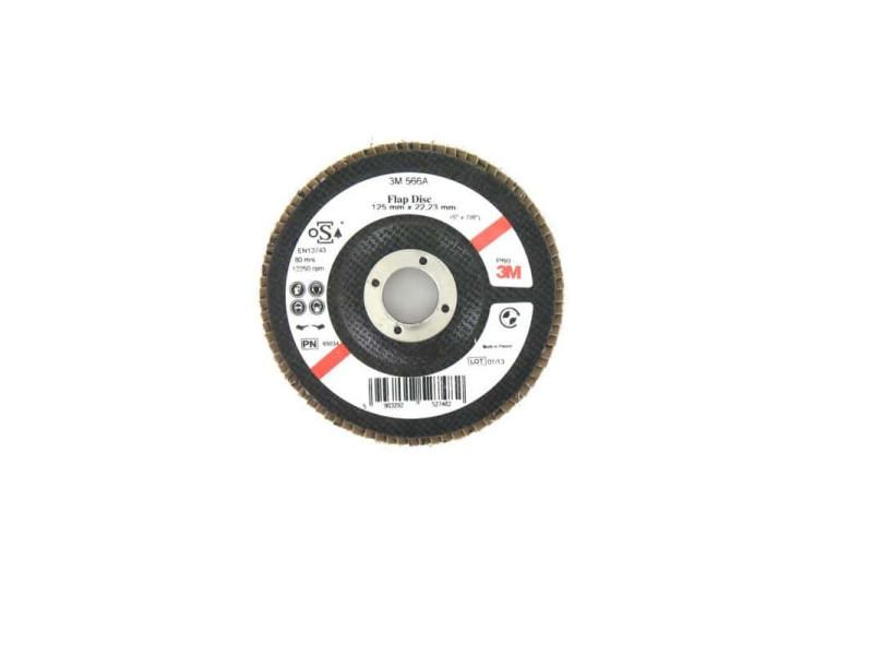 Disque 3m 566a à lamelles bombée grain 60 x 5 Disque-3M-566A-x-60-x-5