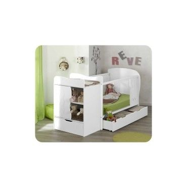 Great Ma Chambre Duenfant Lit Bb Volutif Jooly With Chambre Petite Fille  Conforama